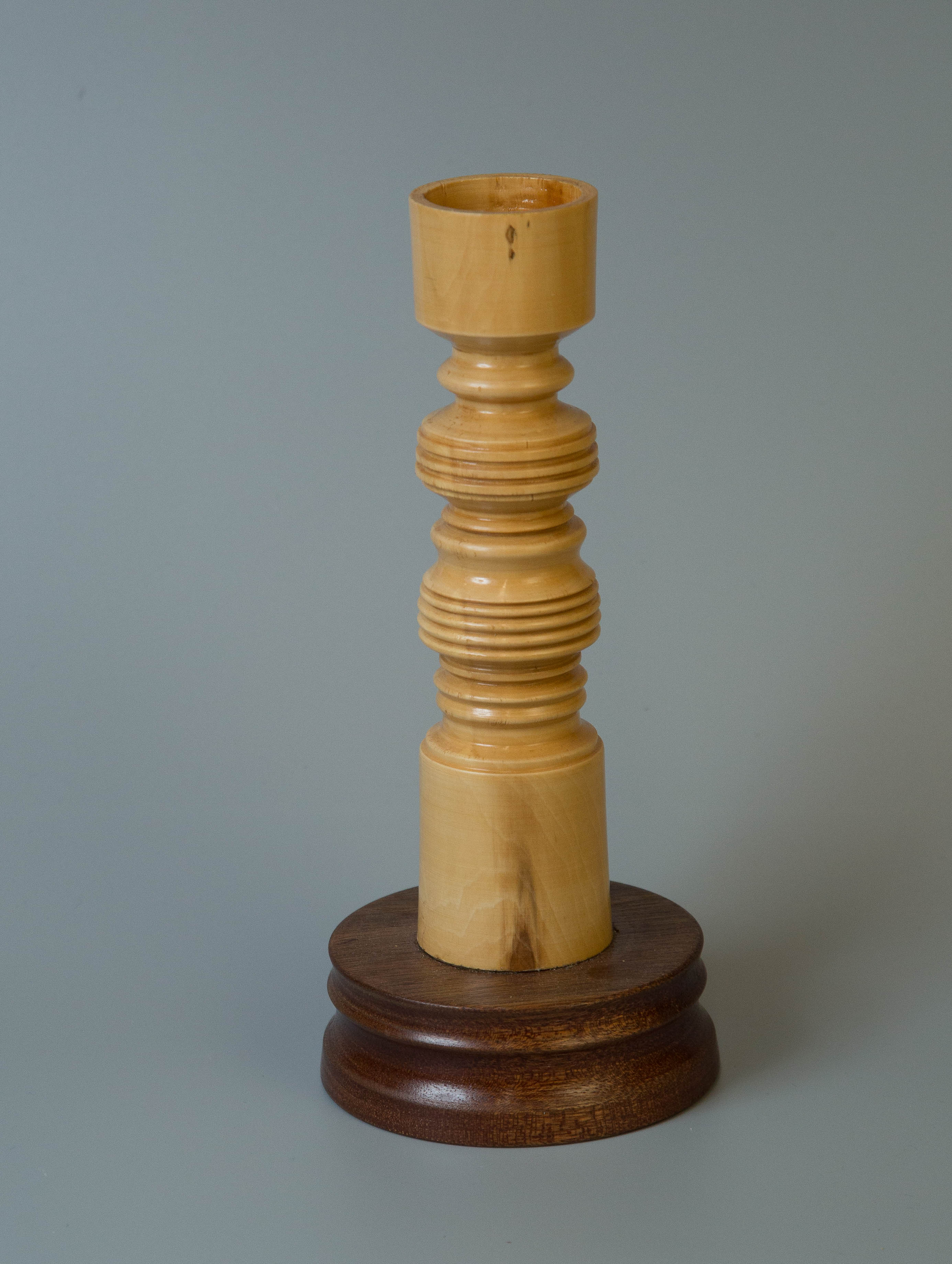 A candle holder  by David Cross